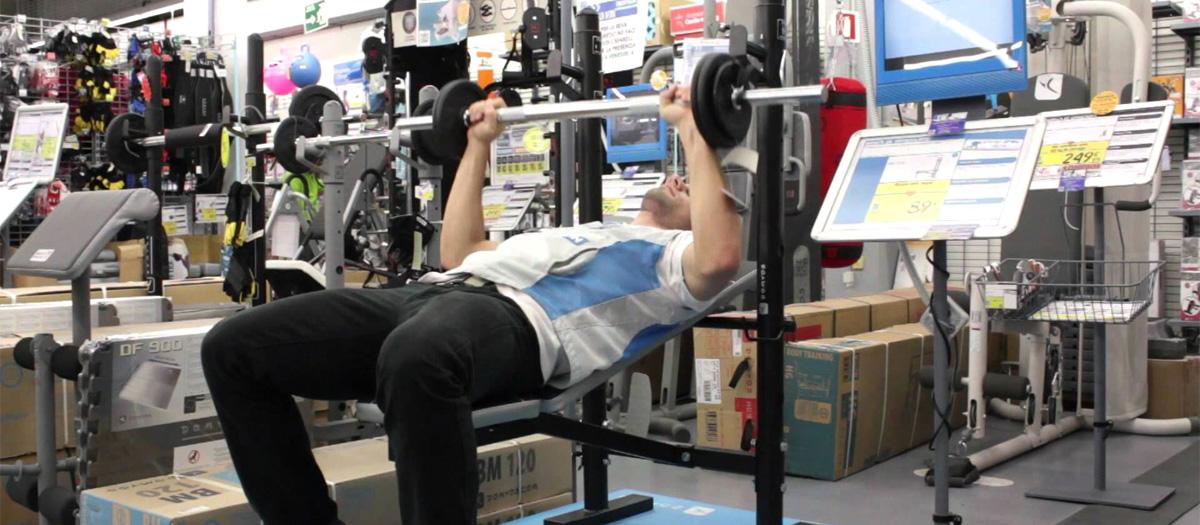 test banc de musculation