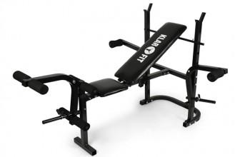 Klarfit Workout Hero Multistation: un banc de musculation complet